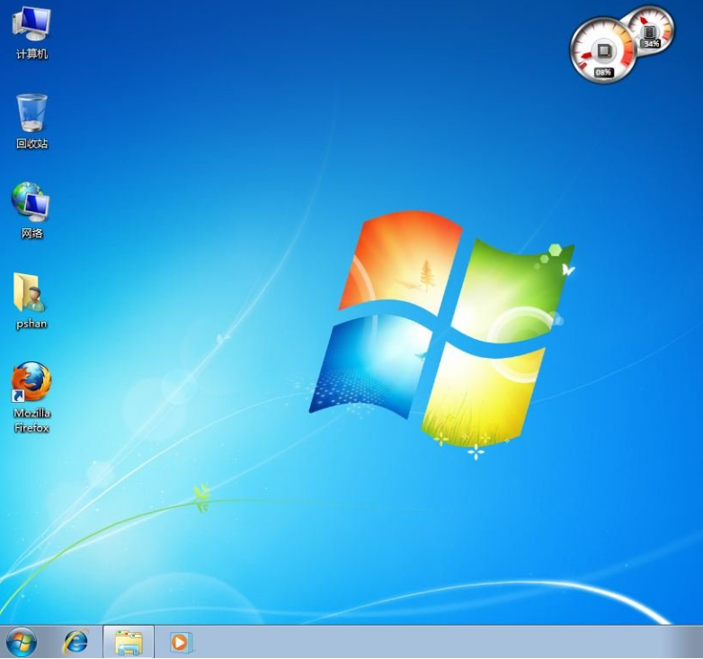 windows 7桌面