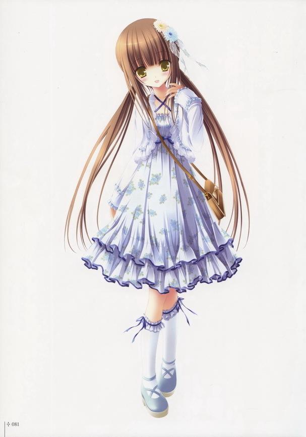 要可爱,漂亮的动漫少女10张,用于qq头像