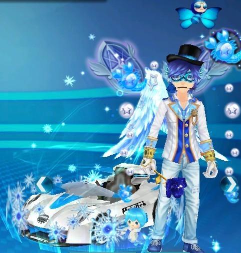 qq飞车水精灵幻化后是什么样子