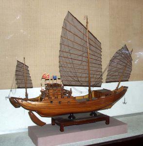 """对当时福建的大型远航帆船""""客舟""""的形体结构叙述甚"""