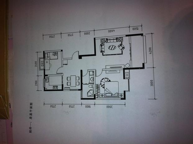 朝南的房子四间两层设计平面图
