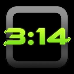 Talking Time Alarm Clock: