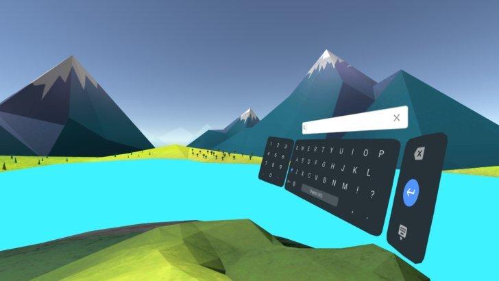 谷歌发布Daydream虚拟键盘