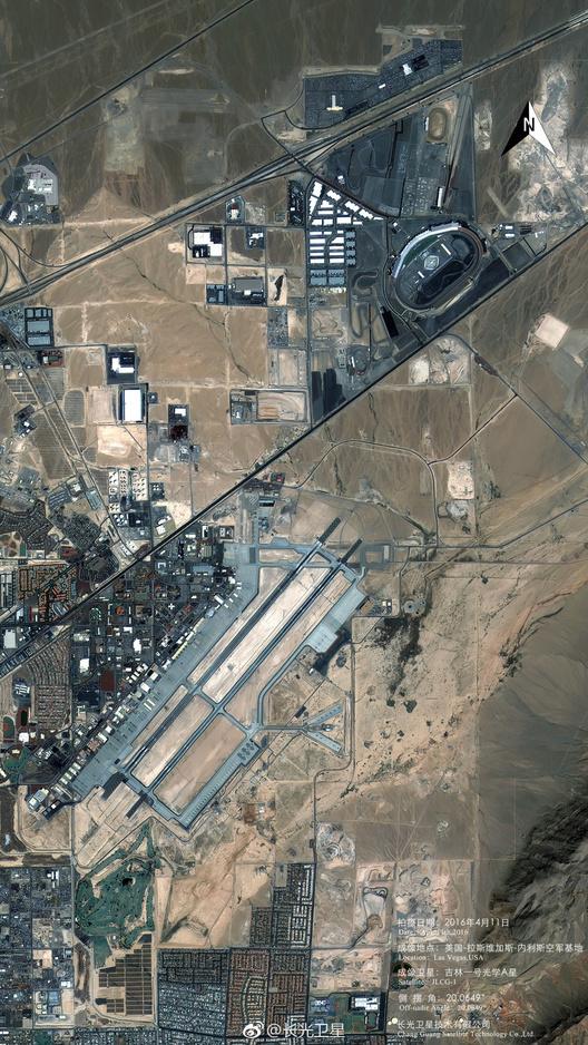 中国卫星拍到的美国本土空军基地:还清楚吗? - 一统江山 - 一统江山的博客