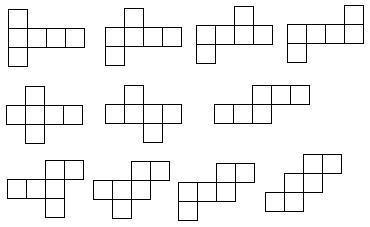 长方体的展开图怎么算