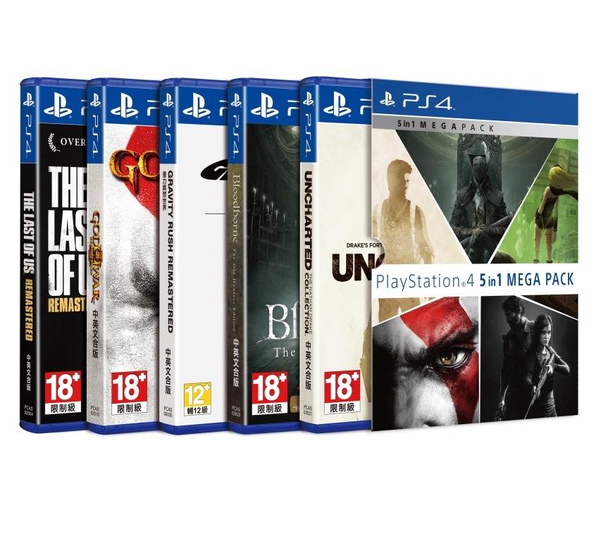 台湾SIE再推PS4中文游戏大礼包