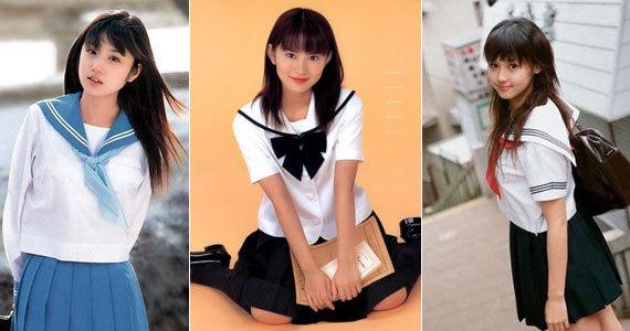揭秘日本女生校服情结 - 深海情深 -