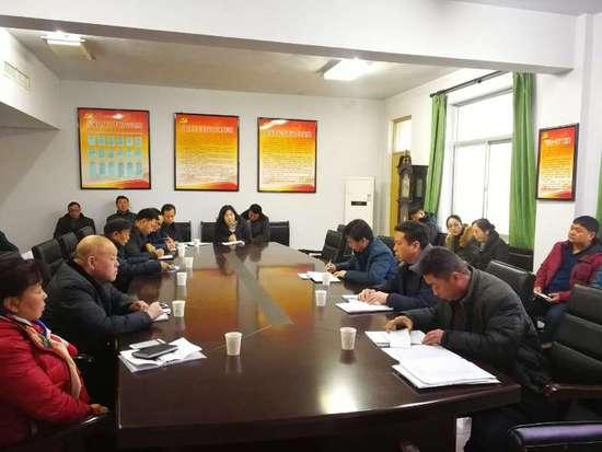灵宝林业局召开植树造林森林防火会议