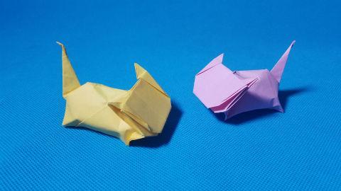 折纸王子教你折纸小猫咪 儿童折纸大全