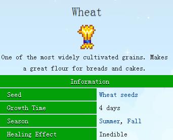 星露谷物语stardew valley小麦怎么用