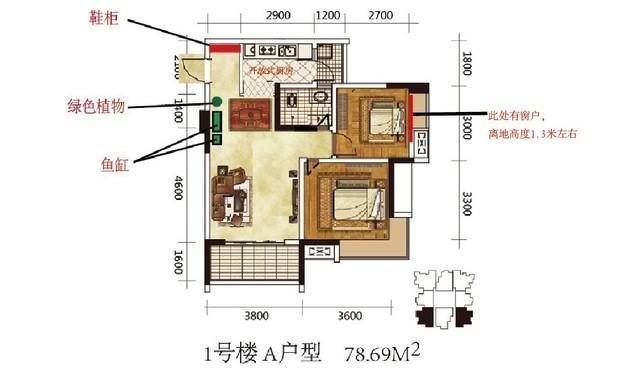 楼房简易电路图