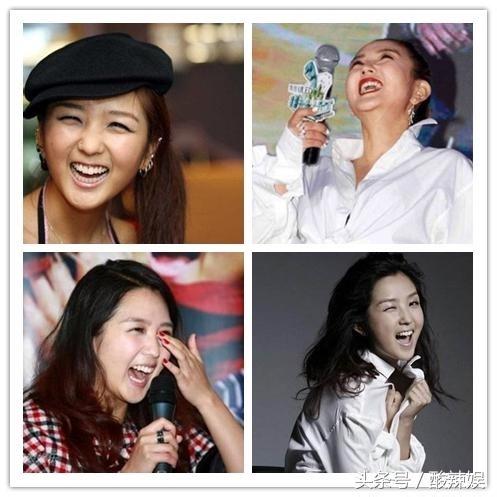 除了大笑,小s很多翻白眼骂脏话的截图也都是表情包里面热门的gif图.图片