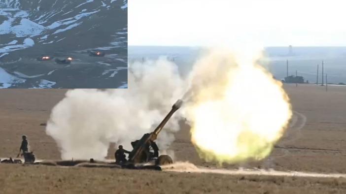 解放军这些老炮还能战吗?海拔4600米 白天黑夜炸翻敌军