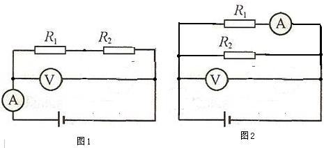 压,根据欧姆定律求出r2的阻值,进一步求出r1的阻值; 根据并联电路的