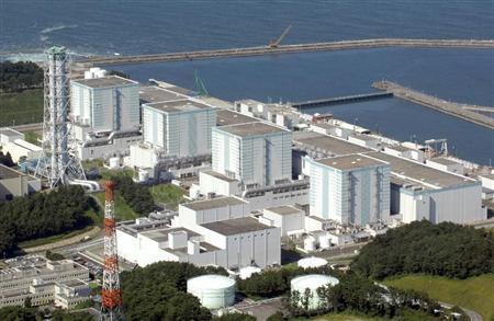 福岛第一核电站有四个核反应堆