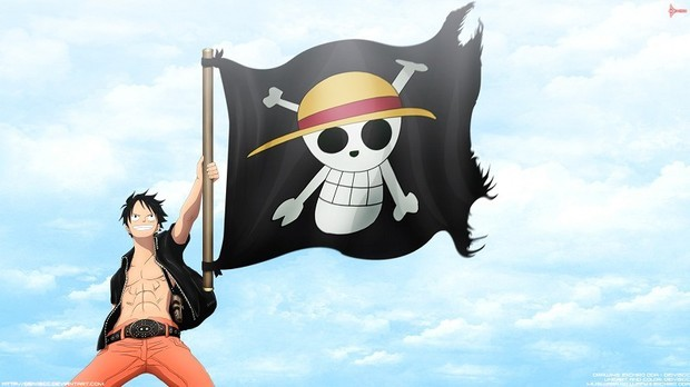 海贼王路飞帅气高清图片,只要图片