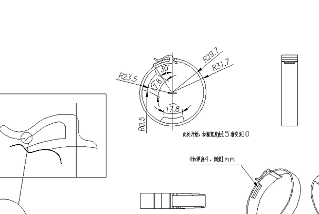 CAD布局中打印不出标注_360v布局cad×字体名图片