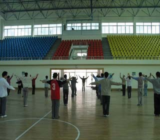 (图)室内体育馆