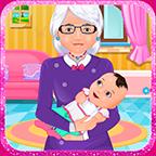 奶奶喂宝宝游戏